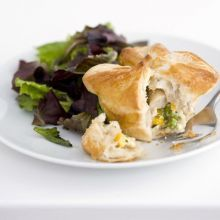 Chicken & sweetcorn pies