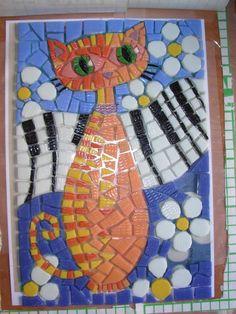 Gato mosaicos