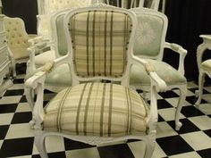 French Provincial Louis XV Chair ARM Chair Bedroom Chair NOT Vintage   eBay