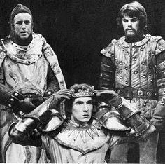 1968 - Ian McKellen and Richard Morant (bearded) in 'Richard II'