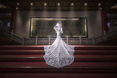 Some brides stress, some don't. I think I'm a serene bride. | Munich Photography Studio | Taipei, Taiwan.