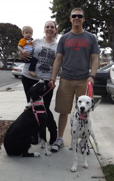 Meet Bailey ADOPTED, a Petfinder adoptable Dalmatian Dog | Newport Beach, CA | Hi! I'm adopted. Here I am with my new family. I am sure going to love life now. Yay!