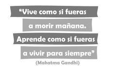 #cita #frase #viaje #Gandhi