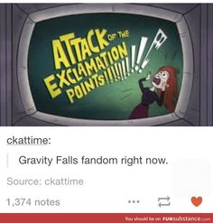 As a person who has a best friend in the GF fandom, I can confirm that this is true.«« As someone watching the season finale with my little sister right now, I can confirm that this is true