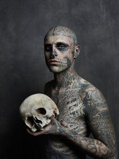 zombie boy rick genest photo Joey L tattoo Frank Lewis
