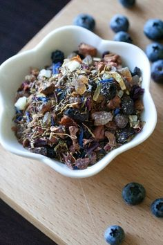 blueberry kona pop tea from teavana.