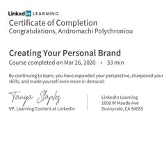 learning I am accepting congratulations. Just today I finished some course from LinkedIn that can help me in my career. Certificate Of Completion, My Career, Personal Branding, Help Me, Create Yourself, Congratulations, It Is Finished, Learning, Studying