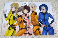 Space Battleship Yamato 2199 Girls Sci Fi Anime, Captain Harlock, Star Blazers, Space Battles, Female Anime, Cartoon Tv, Manga Games, Battleship, Yamamoto