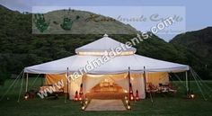 HANDMADE TENTS offers wide range of Indian Mughal Tents at most reasonable prices. We are leading manufacturer and exporter of Indian Mughal Tents from India. Tent Platform, Luxury Tents, Wedding Spot, Wedding Ideas, Canopy Tent, Canopies, Perfume, Glamping, Gazebo