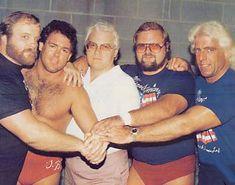 ric flair on nwa wrestling | ... wrestling s famed four horsemen dominated the national wrestling