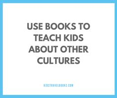 Using books to teach