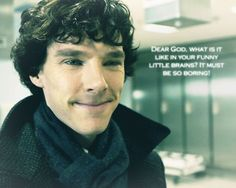 This is the line that made me fall in love with Sherlock...