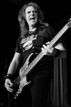 David Ellefson in Hail! 26 de Janeiro de 2010 em B.B. Kings