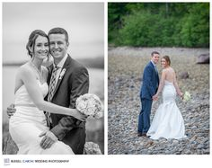 Crystal and Kyle, Lincolnville Maine Wedding Photographers