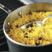 Riz aux épices indiennes