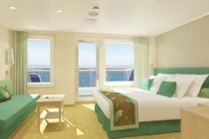 Our room!!! 2018 on the Carnival Breeze cloud 9 spa suite ❤