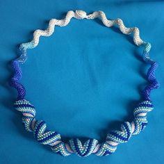 Seawaves My holiday neckpiece :-)