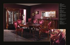 Designový italský nábytek pro jídelny Ceppi Style, kompletní nabídku této značky a mnoho dalších naleznete na našich stránkách: http://www.saloncardinal.com/galerie-ceppi-style-bdb
