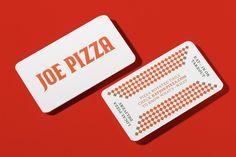 Joe Pizza by Glasfurd & Walker — The Brand Identity