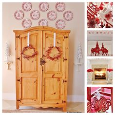 Thistlewood farms - Red Bedroom Christmas