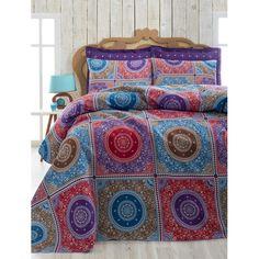 Cuvertură subțire pentru pat Ornament Purple, 200 x 235 cm