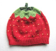 Berry hat project shared on the LoveKnitting Community