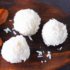 Coconut Chocolates Recipe – Sweet Bounty Balls – Famous Last Words Fiber Cereal, Fried Brown Rice, Fiber Rich Foods, Natural Yogurt, Dried Beans, Some Recipe, Four, Baking Pans, Food Items