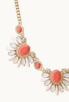 Touch-Of-Glam Faux Stone Necklace $13