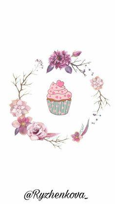 @Ryzhenkova_ Tumblr Wallpaper, Wallpaper Backgrounds, Iphone Wallpaper, Instagram Logo, Instagram And Snapchat, Instagram Feed, Watercolor Wallpaper, Watercolor Flowers, Instagram Background