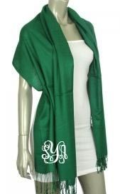 Green isn't normally my color, but I love this Marley Lilly Forest Green Pashmina Scarf!