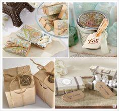 mariage voyage cadeaux invites boites valise