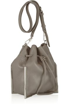 1b72a9baf9b 3.1 Phillip Lim - Scout textured-leather drawstring bag