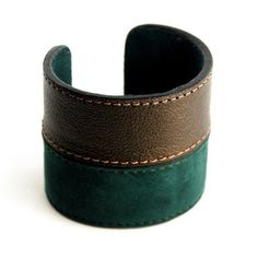 Cuff Metallic Green now featured on Fab.
