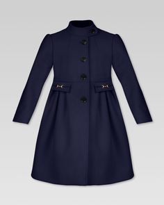 Gucci Wool Single-Breasted Coat - Neiman Marcus