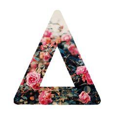Bastille floral logo triangle IV