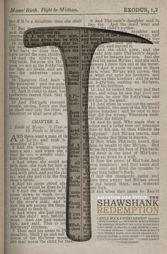 The Shawshank Redemption: Salvation lies within Art Print