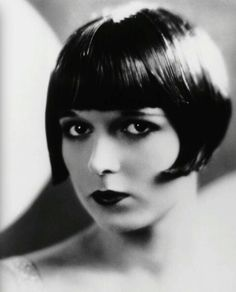 Louise Brooks...Silent film star, dancer, noted for popularizing the bobbed haircut. 1906-1985