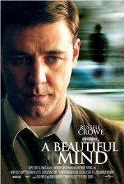 A Beautiful Mind (2001) Poster What a performance by Russell Crowe.