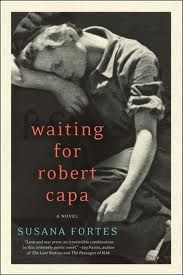 The relationship between war photographers Robert Capa and Gerda Taro. Suggested by Lane Bookshop.