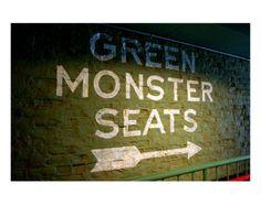 Green Monster Seats, Michelle Walke