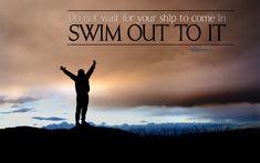 Stop waiting around. Just go for it!  ⛵️ http://maverickinvestorgroup.com…