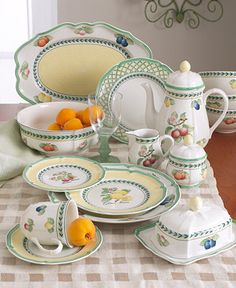 Love Villeroy and Boch French Garden ever since Paris 1999 New