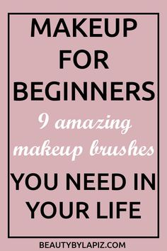 Makeup Brushes You Need in Your Makeup Kit as a Beginner What are good makeup brushes for beginners? Makeup for beginners, nine amazing makeup brushes you need in your life Eyeshadow Brush Set, Best Eyeshadow, Makeup Brush Set, Makeup Kit, Makeup Hacks, Makeup Ideas, Drugstore Makeup, Eyeshadow Guide, Best Makeup Brushes