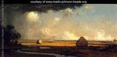 Marshfield Meadows  Massachusetts - Martin Johnson Heade - www.martin-johnson-heade.org