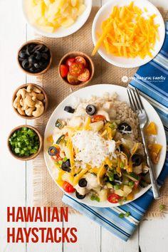 Hawaiian Haystack Recipe on Pinterest | Hawaiian Haystacks ...