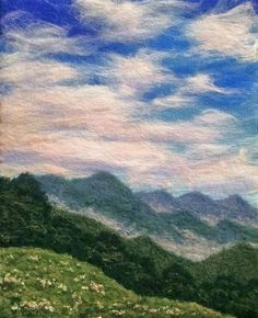 Gallery II of felted landscapes