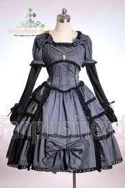 Hermoso vestido  Gothic lolita!! <3