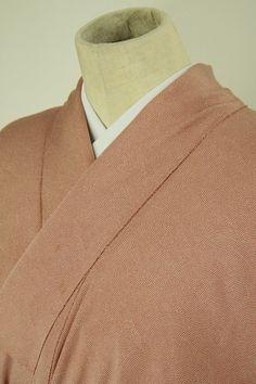 Same komon pattern komon kimono / 蘇芳香色 鮫小紋柄 小紋   #Kimono #Japan  http://www.rakuten.co.jp/aiyama/