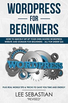 Build your own Website or Business Now With WordPress Learn Wordpress, Build Your Own Website, Save Yourself, Affiliate Marketing, Online Business, How To Find Out, Social Media, Tips, Kindle