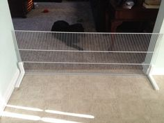 Build A Free Standing Cat Dog Pet Gate With Virtually No Tools